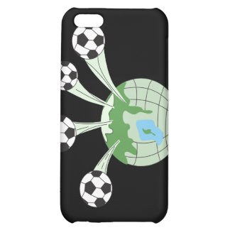soccer world worldwide graphic cover for iPhone 5C