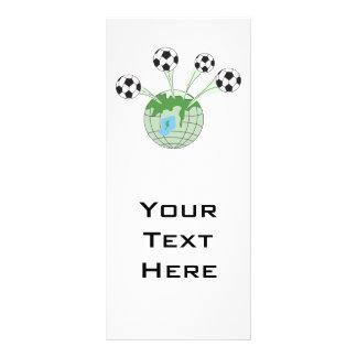 soccer world worldwide graphic rack cards