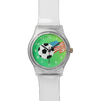 Soccer Wrist Watch