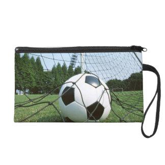 Soccer Wristlet Purse