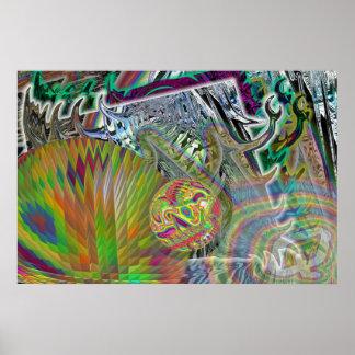 SoccerBall Aztec Toltec Print