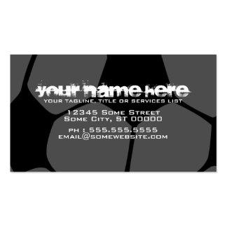 soccerball business card