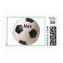 soccerBall, name stamp