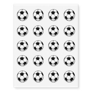 Soccerball Temporary Tattoos