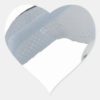 SoccerBallGoal050915 Heart Sticker