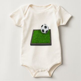 SoccerBallGrass101311 Baby Bodysuits