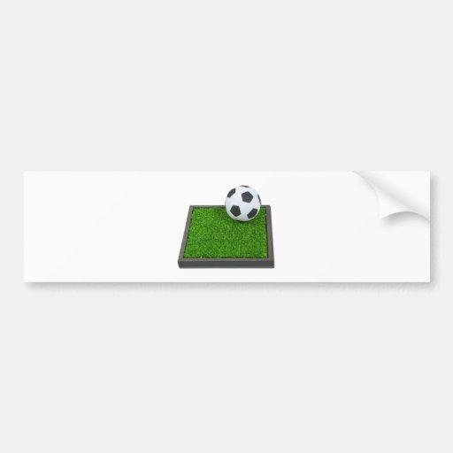 SoccerBallGrass101311 Bumper Sticker