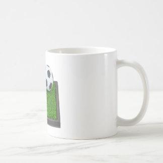 SoccerBallGrass101311 Classic White Coffee Mug