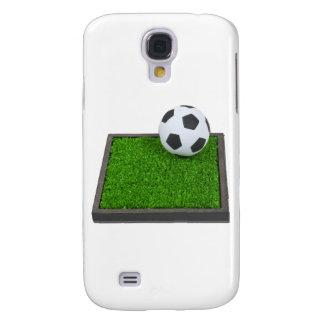 SoccerBallGrass101311 Galaxy S4 Cover