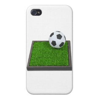 SoccerBallGrass101311 iPhone 4/4S Covers