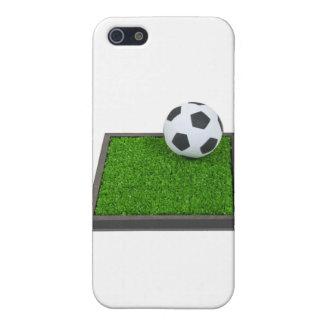 SoccerBallGrass101311 iPhone 5 Cover