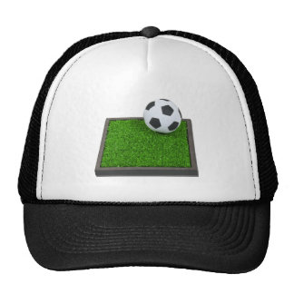 SoccerBallGrass101311 Trucker Hat