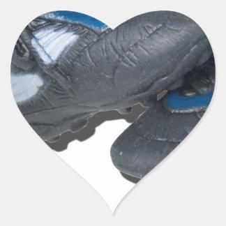SoccerBallTrackShoes050915 Heart Sticker