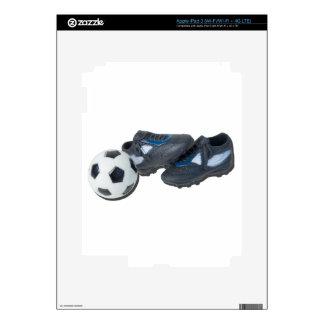 SoccerBallTrackShoes050915 iPad 3 Decal