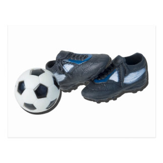 SoccerBallTrackShoes050915 Postcard