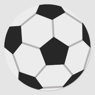 SoccerBoysP7 Round Stickers