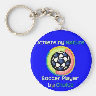SoccerChick ABN Key Chain