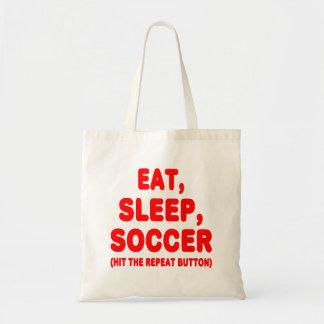 SoccerChick Repeat Tote Bag