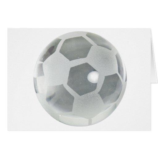 SoccerCrystalBallOnly092110 Greeting Card