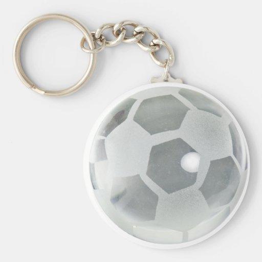 SoccerCrystalBallOnly092110 Keychains