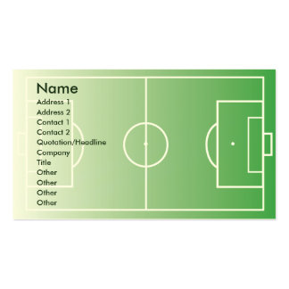 Soccerfield - Business Double-Sided Standard Business Cards (Pack Of 100)