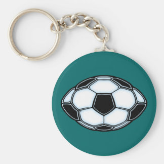 Soccerfootball Keychain