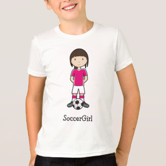 SoccerGirl Playera