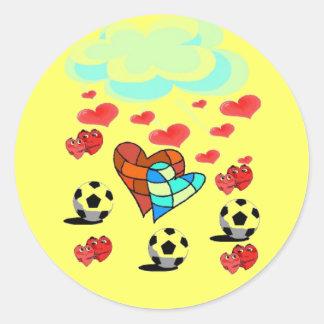soccerhearts sticker