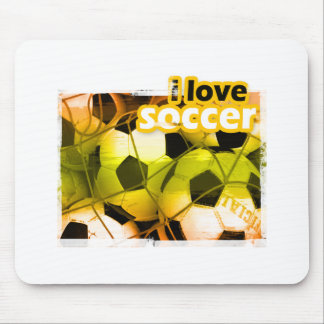 SocceriGuide Striker Mouse Pad