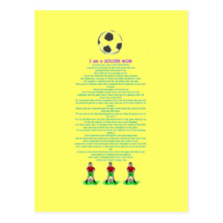 soccermom postcard