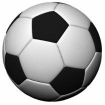 soccerPhotosculpture Cutout