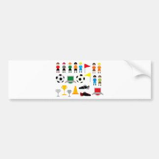 SoccerTeam1 Car Bumper Sticker