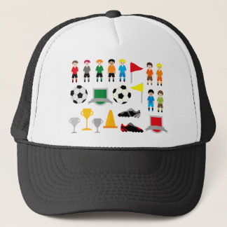 SoccerTeam1 Trucker Hat