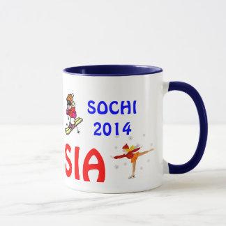 Sochi 2014 Russia Coffee Mug