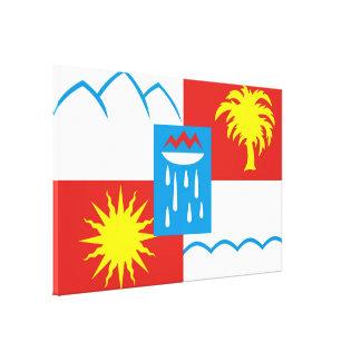 Sochi Flag Stretched Canvas Prints