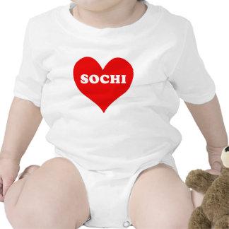 Sochi Heart Tshirts