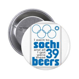 Sochi Pinback Button
