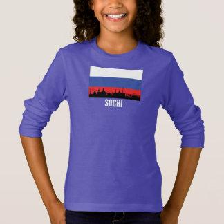 Sochi Russian Flag T-Shirt