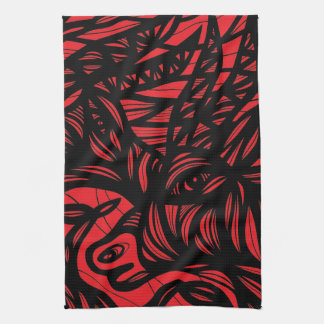 Sociable Bliss Nurturing Romantic Hand Towel