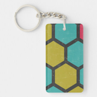 Sociable Sensible Persistent Willing Single-Sided Rectangular Acrylic Keychain