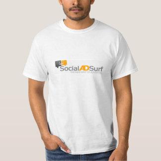 Social Ad Surf XL T-shirt Large Logo