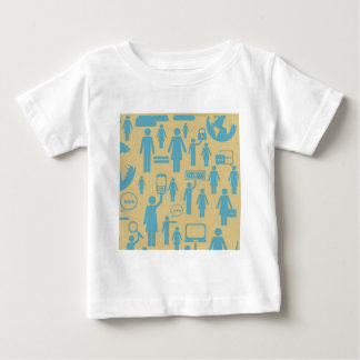 Social average design baby T-Shirt