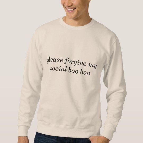 Social Boo Boo sweatshirt