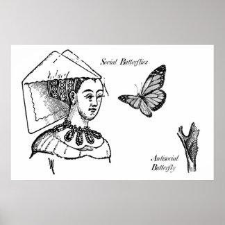 Social Butterflies Print