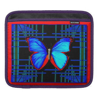 Social Butterfly iPad pad Horizontal Sleeves For iPads