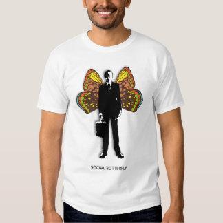 Social Butterfly Man Shirt