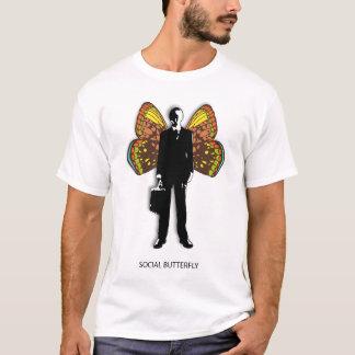 Social Butterfly Man T-Shirt