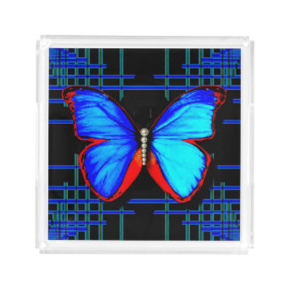 Social Butterfly Serving Tray