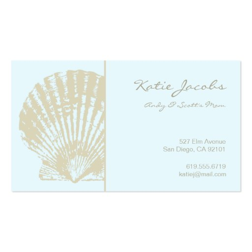 Social Calling Cards Double-Sided Standard Business Cards (Pack Of 100 ...