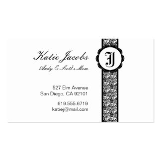 Social Calling Cards Business Card Template
